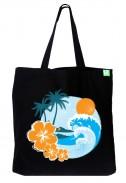Bavlněná taška Beach černá