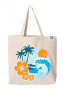 Bavlněná taška Beach světlá