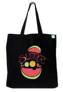 Bavlněná taška Summer černá